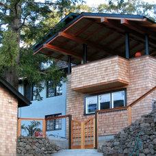 Contemporary Porch by Paul Farinato