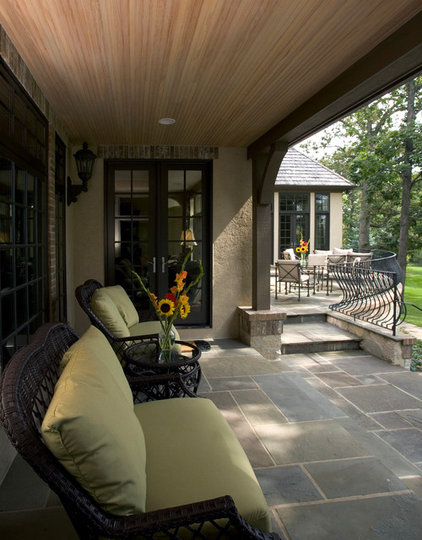 Traditional Patio by Orren Pickell Building Group