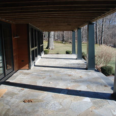 Traditional Porch by DeMotte Architects