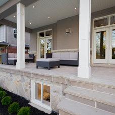 Contemporary Porch by Urban Development Inc
