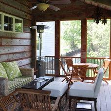 Porch by Werschay Homes