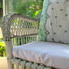 Traditional Porch Cozy Little Sunroom