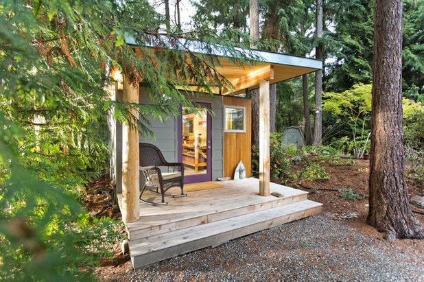 Modern Porch by Modern-Shed