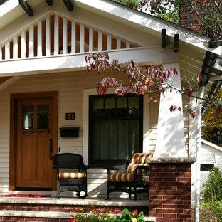 Craftsman Conversion Front Porch