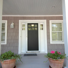 Craftsman Porch by Dickinson Homes