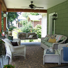 Craftsman Porch Craftsman Cottage Front Porch