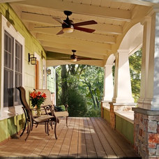Craftsman Porch by Commonwealth Home Design