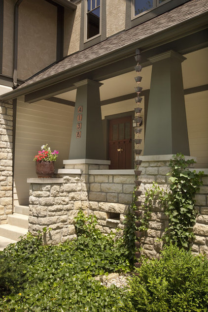 craftsman porch by Andrew Melaragno, AIBD