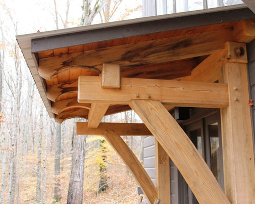Timber Frame Porch Houzz