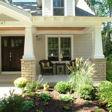 Traditional Porch by Derrick Architecture