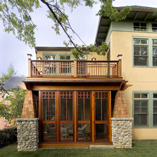 Traditional Porch by Pagenstecher Group