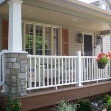 Craftsman Porch by A.W. Hobor & Sons, Inc.