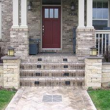 Traditional Porch by Urban Gardens, Inc.