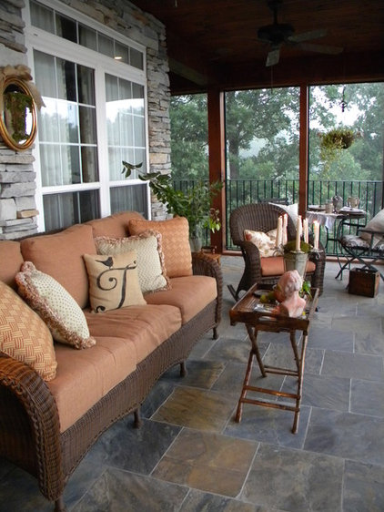 Eclectic Porch by Christie Thomas