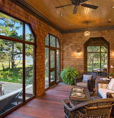 traditional porch by The Anderson Studio of Architecture & Design