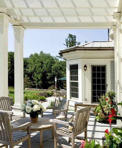 Farmhouse Porch by Crisp Architects