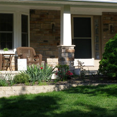 Traditional Porch by North Coast Home Improvement Corp.