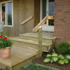 Traditional Porch by TallHouse Improvements
