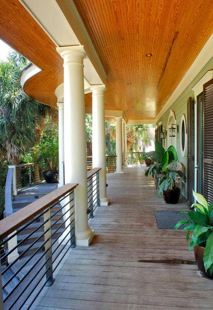 Tropical Porch by Christopher A Rose AIA, ASID