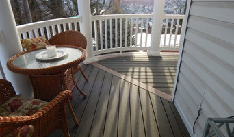 Curved porch