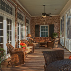 Traditional Porch by Suiter Construction Company, Inc.