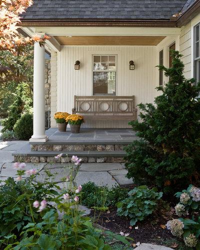 Traditional Veranda by David Sharff Architect, P.C.