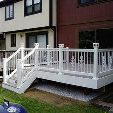 Modern Porch by Creative Deck Designs