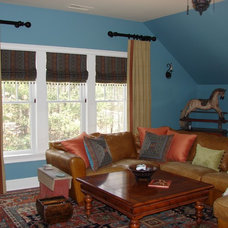 Eclectic Porch by Cathy Crist