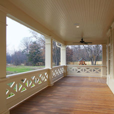 Traditional Porch by R.A.Hoffman Architects, Inc.