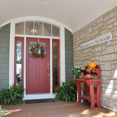 traditional porch by Van's Lumber & Custom Builders, Inc.