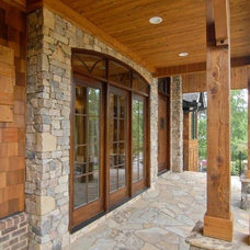 Traditional Porch by First Choice Custom Homes