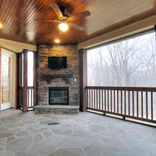 Traditional Porch by Linnane Homes