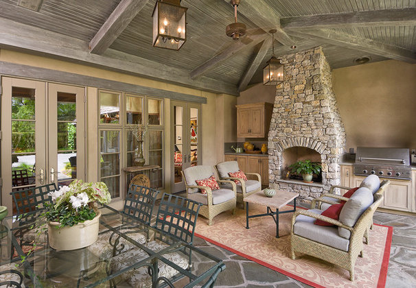 Traditional Porch by Jack Arnold Companies