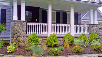 Custom Porch Railing in Weston, MA