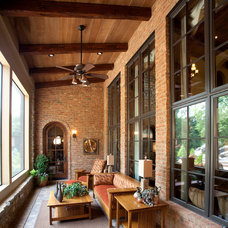 Traditional Porch by Miami Woodworking Inc.