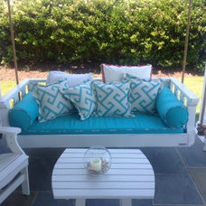 Beach Style Porch by Vintage Porch Swings LLC