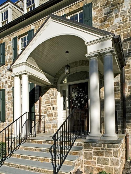 Front Porch Portico Houzz