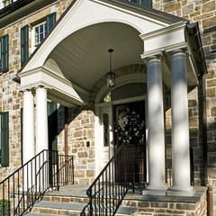 traditional porch by Penza Bailey Architects
