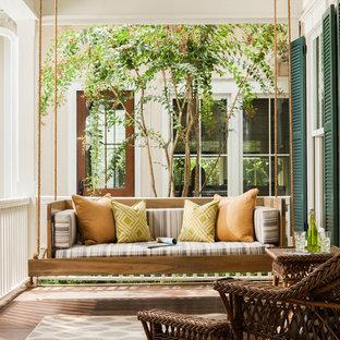 Cypress Swing Bed