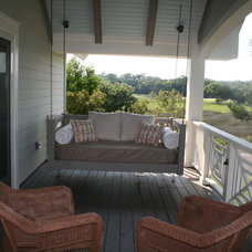 Beach Style Porch by D John Design