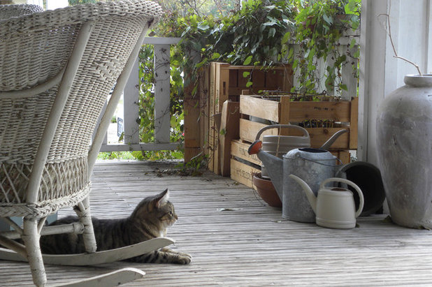 Eclectic Porch by Sarah Greenman