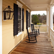 Traditional Porch by Christopher F. Caponigro, AIA