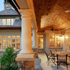 Traditional Porch by Robert A. Cardello Architects