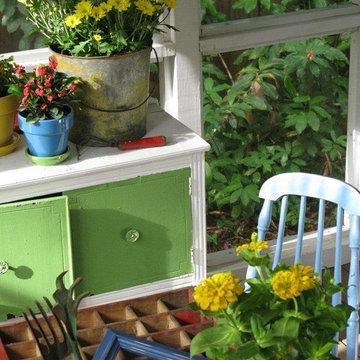 Dear Daisy Cottage- porch