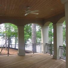 Contemporary Porch by McSpadden Custom Homes