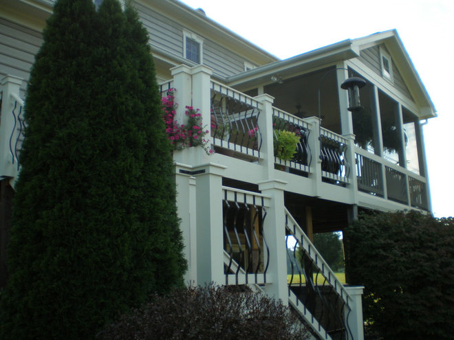 Traditional Porch by Fairhaven Homes