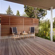Modern Porch by Habitat Studio