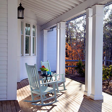 Traditional Porch by SMOOK Architecture & Urban Design, Inc.