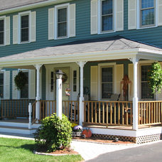 Traditional Porch by Miller Construction Co Inc