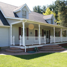 Traditional Porch by Spectrum Construction